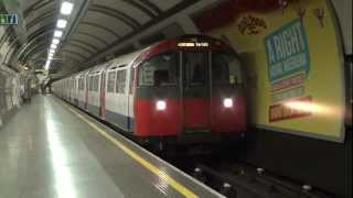 London Underground Piccadilly Line 1973TS at Hyde Park Corner HD