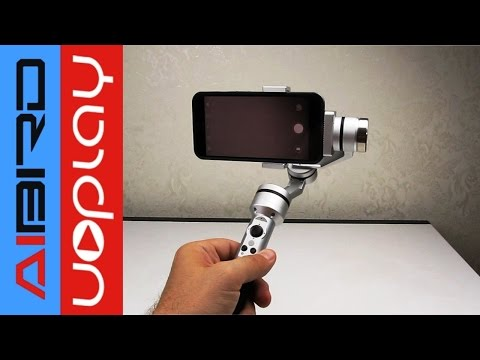 AIbird Uoplay stabilizer for smartphone and GoPro. Video test