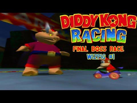 Diddy Kong Racing: Final Boss Race Wizpig #1 & First Ending