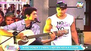 DANIEL LAZO Y NIKKO PONCE EN HOLA A TODOS 02/05/14 HD