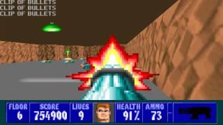 Wolfenstein 3D - Episode 6, Floor 6