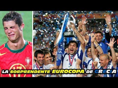 2004 La Sorprendente EUROCOPA 🏆 De GRECIA 🇬🇷