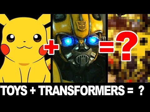 Turning TOYS Into TRANSFORMERS!
