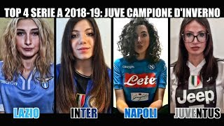 Download Video Lazio VS Inter VS Napoli VS Juventus | TOP 4 Serie A 2018-19: dopo il girone d'andata MP3 3GP MP4