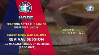 2018 December Retreat - Worship Sermon (23rd December, 2018): The Higher Way of the Heavenly Calling