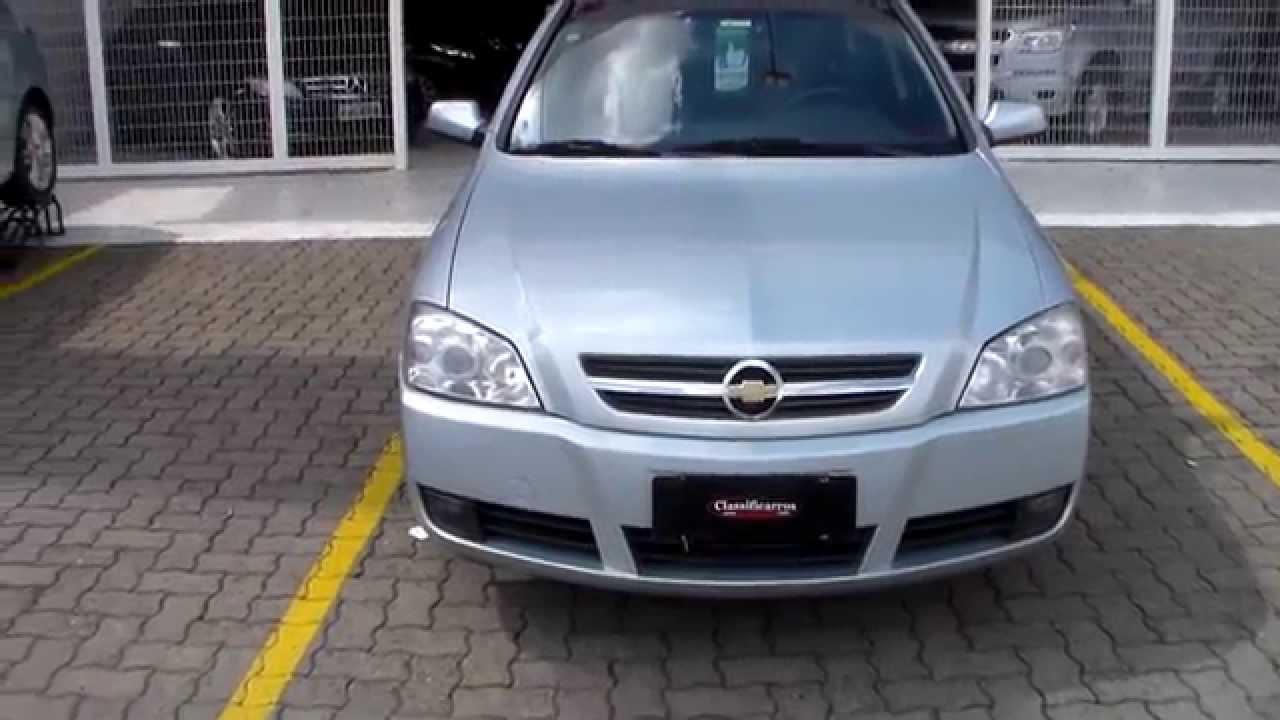 Chevrolet Astra Sedan Advantage 2 0 8v Flex 4p 2007 Youtube