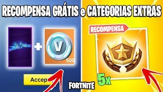 FORTNITE - GLIDER GRÁTIS + 500 VBUCKS AND ALL AS SECRET REWARDS GIVE SEASON 8