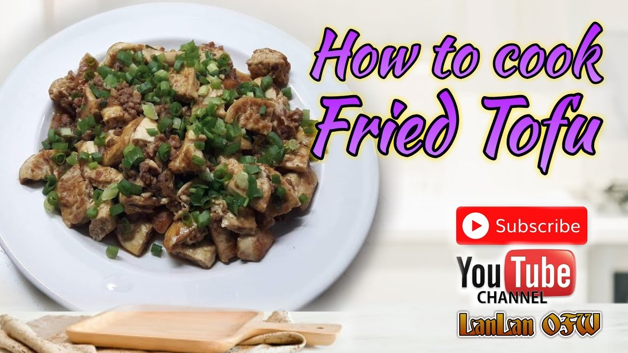 #68 How to cook Tofu/Simple recipe