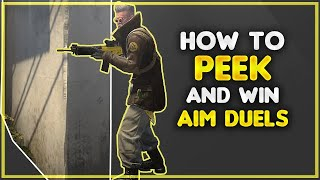 CS:GO Movement - How to peek & win aim duels