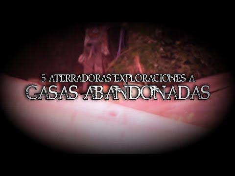 LAS 5 EXPLORACIONES URBANAS MÁS ATERRADORAS A CASAS ABANDONADAS (Con DARKSOUL)   DavoValkrat
