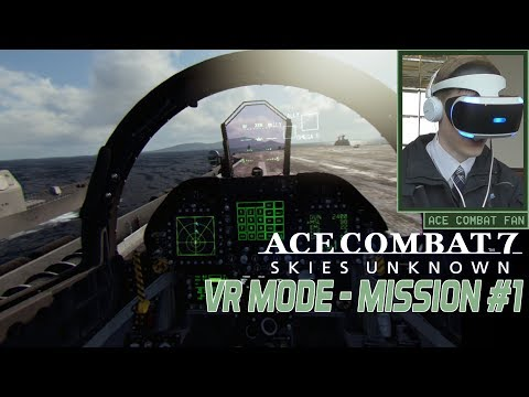 Ace Combat 7 | VR Mission #1 | Scramble | F-18F Gameplay | 1080p 60fps