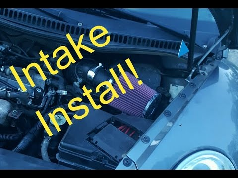 Intake Install Video!! (How to install a intake on MK4 Beetle, Golf, & Jetta)