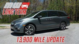 Long Term: 2018 Honda Odyssey (13,900 mile update)