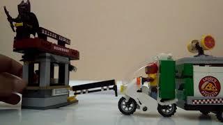 Lego Batman movie scarecrow special delivery set review