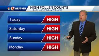 WATCH: Clear weekend ahead for outdoor plans