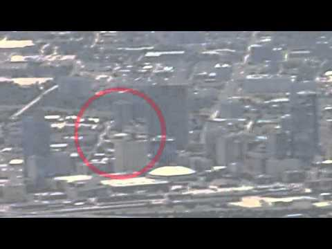 UFO over DALLAS - Filmed from Plane - 03/21/2012