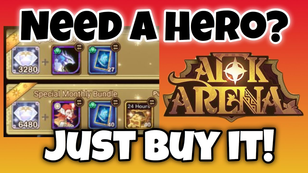 NEW Daily, Weekly, and Monthly Bundles! [AFK ARENA]