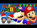 WHAT IS CO-OP!? || Super Mario 64 Multiplayer || HOBO BROS