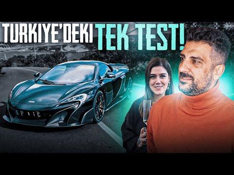 Türkiye'deki Tek Test | McLaren 675LT