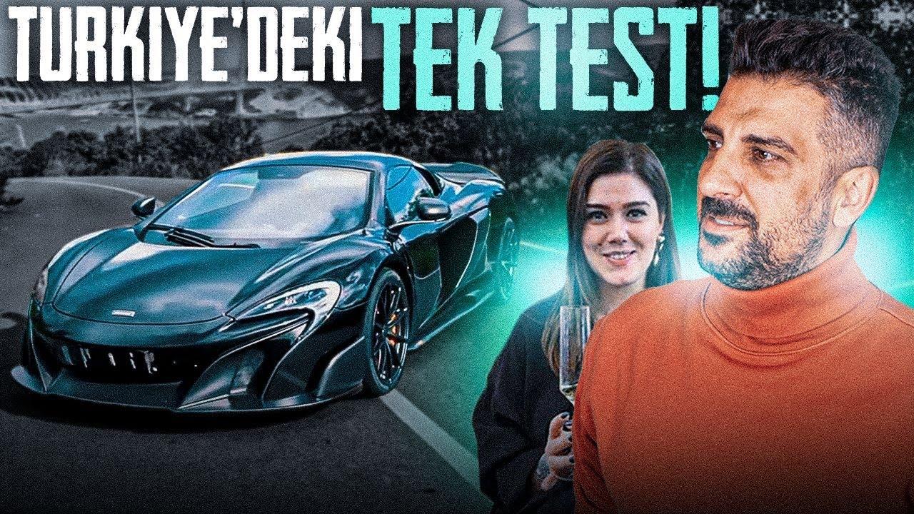 Türkiye'deki Tek Test   McLaren 675LT