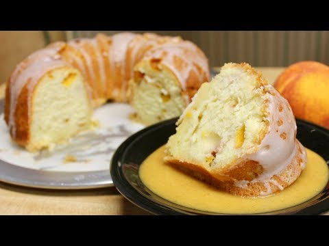 Peach Pound Cake With Michael's Home Cooking