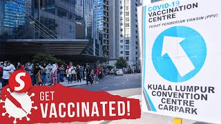 Walk-in vaccinations in the Klang Valley to start on Aug 2
