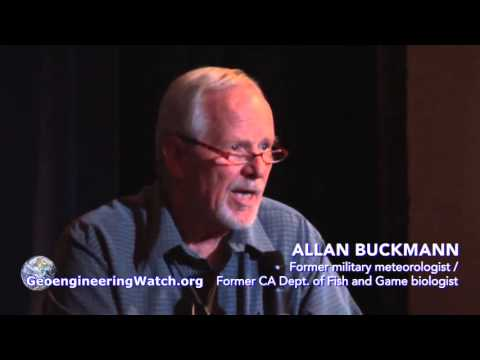 Former Government Biologist Addresses Climate Engineering Threat At Northern California Ev