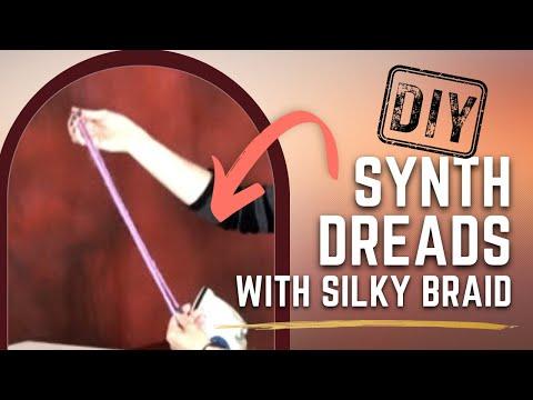 Creating Synthetic Dreadlocks Using Silky Braid - DoctoredLocks.com