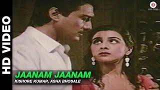 Jaanam Jaanam - Mera Dharam | Kishore Kumar & Asha Bhosle | Jackie Shroff & Amrita Singh