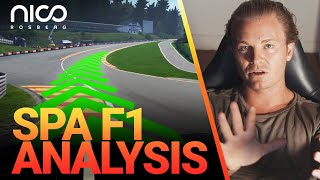 How to Master the SPA F1 Track! | Nico Rosberg