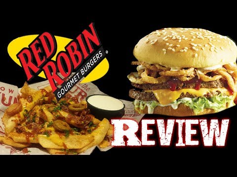 Red Robin - New Cowboy Ranch Tavern Burger & Voodoo Fries Review!