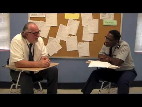 Cadet Donnavan Jefferson Interviews Mr. Stefan Boryscowicz