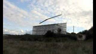flying wing flap testing