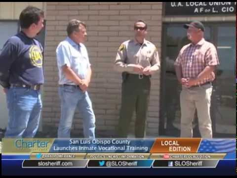 Charter Local Edition Interview about the San Luis Obispo Inmate Vocational/Welding Program