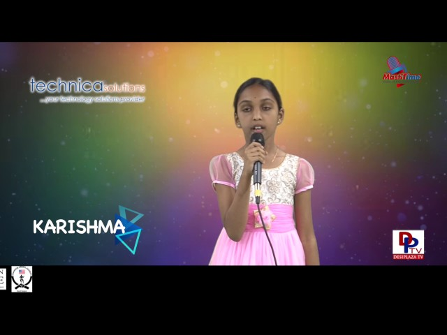 "Karishma speaking about ""The most important lesson of my life"" in Talking Bee competitions 2016"