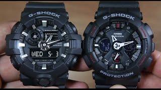 CASIO G-SHOCK GA-700-1B VS G-SHOCK GA-120-1A