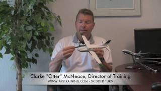 Skidded Turn Aerodynamics - APS Emergency Maneuver Training