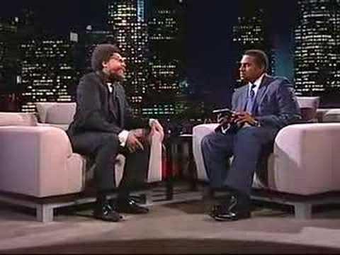 Cornel West on Tavis Smiley