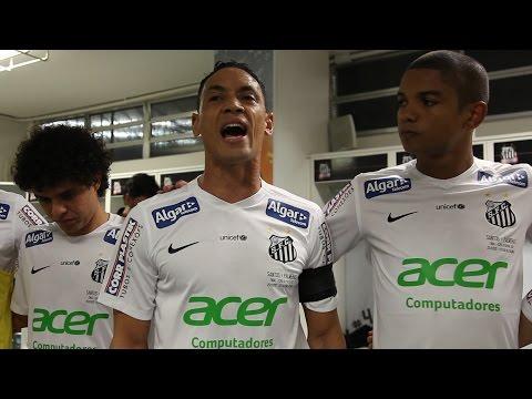 Santos 1 x 0 Palmeiras | BASTIDORES PRÉ-JOGO | Copa do Brasil (25/11/15)