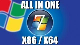 Windows 7 AIO All In One 32 & 64 Bit Tutte Le Versioni