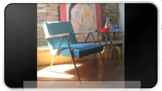 Blue Modern Vintage Furniture