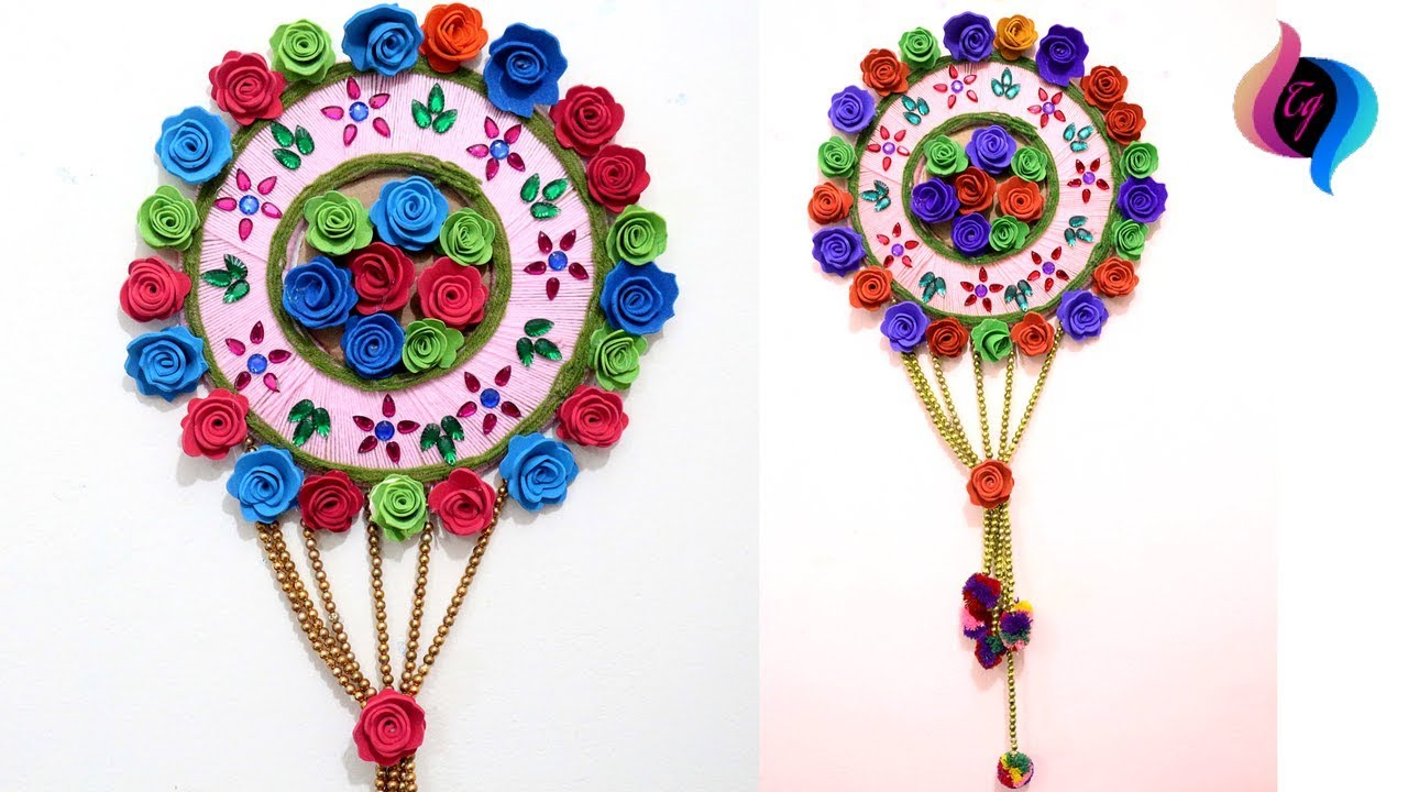 Paper craft ideas for decoration step by step - Handmade ...