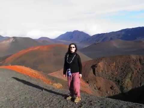 Haleakala Mauna Haleakalā the East Maui Volcano in Hawaii