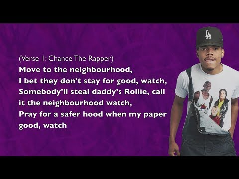 Chance The Rapper - Paranoia - Lyrics