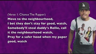 Chance The Rapper - Paranoia - Lyrics