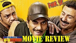Yamla Pagla Deewana Phir Se MOVIE REVIEW   Dharmendra, Sunny Deol, Bobby Deol, Salman Khan