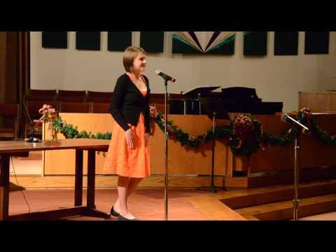 Faith - Smilin' Through - Fall 2012 Recital