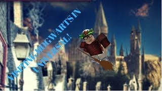 GOING TO UNIVERSAL IN ROBLOX! #1 - Visiting Hogs-mead!