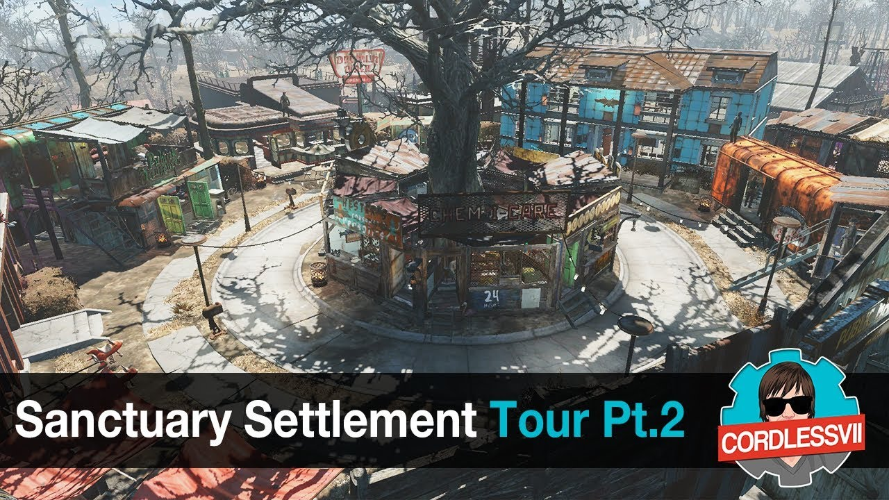 Fallout 4 sanctuary settlement tour part 2 youtube fallout 4 sanctuary settlement tour part 2 malvernweather Image collections
