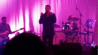 BACKSTAGE / SOMETHING'S GOT A HOLD OF MY HEART - Marc Almond Huddersfield Town Hall 18/9/12.MP4